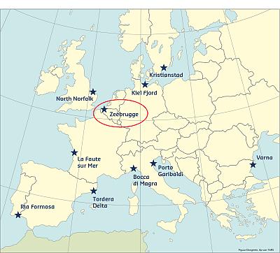 Zeebrugge Belgium Coastal Management Webguide RISC KIT